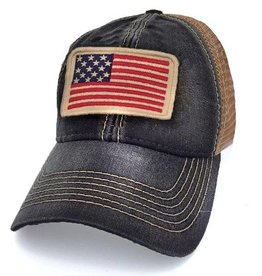 S.L. Revival Co. USA Flag Trucker Hat