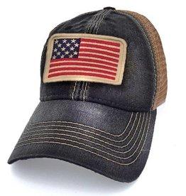 S.L. Revival Co. USA Flag Trucker Hat