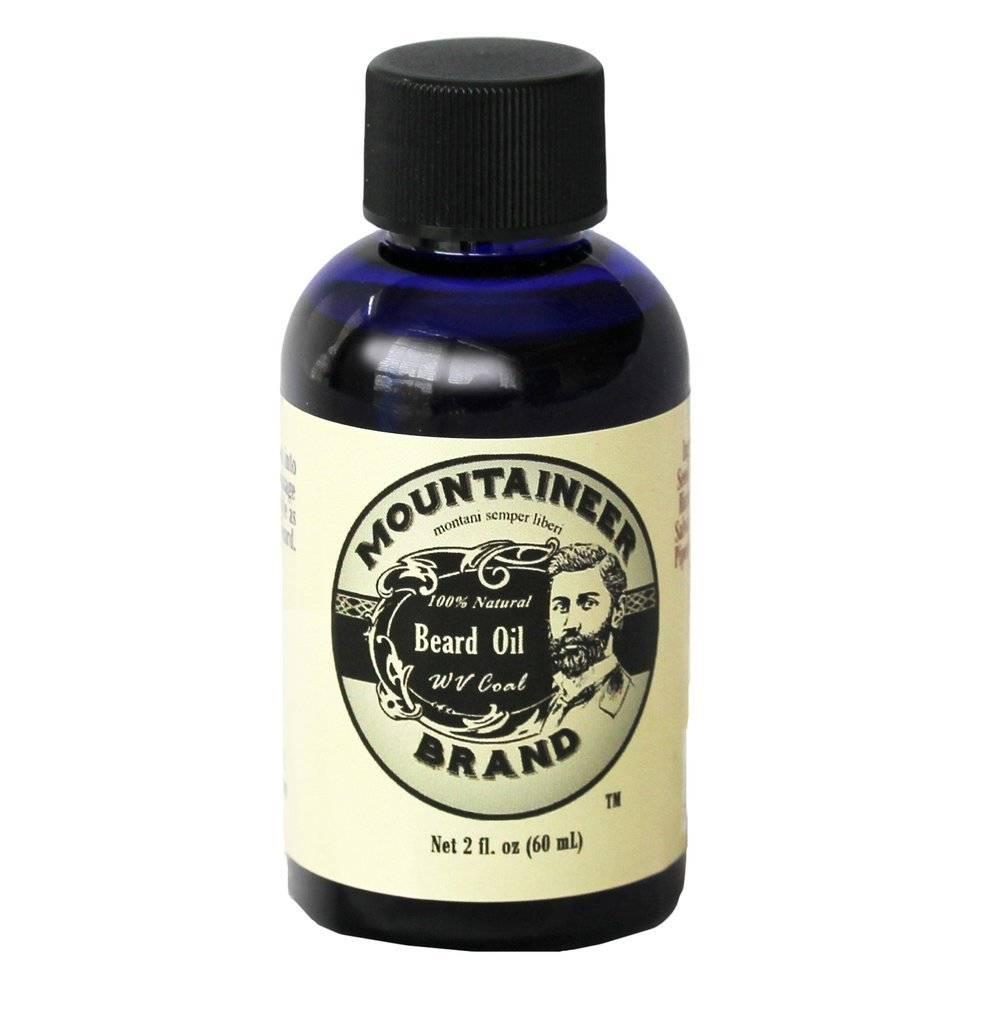 Mountaineer Brand Beard Oil 2oz, WV Coal