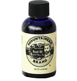 Mountaineer Brand Beard Oil 2oz, WV Pine Tar