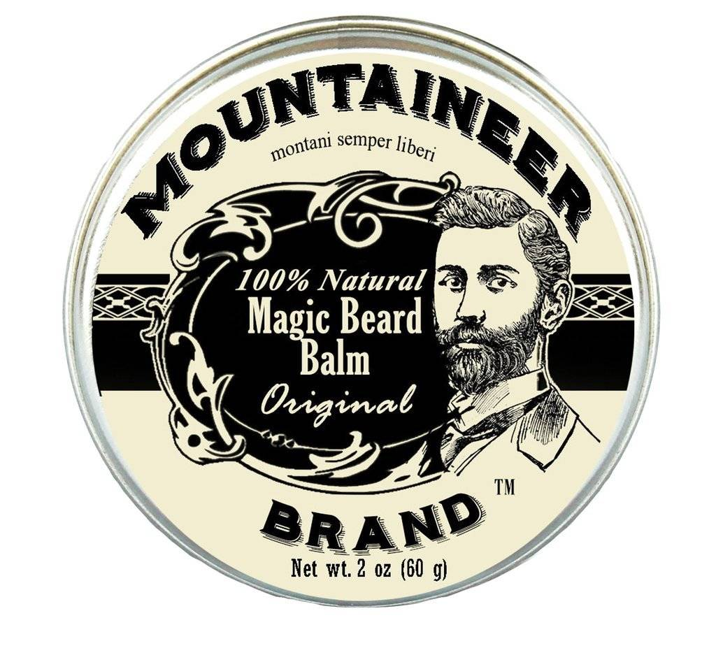 Mountaineer Brand Magic Beard Balm 2oz, Original