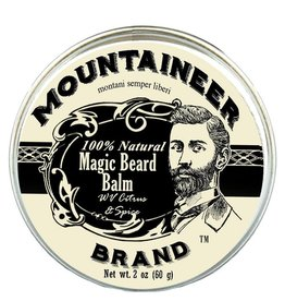 Mountaineer Brand Magic Beard Balm 2oz, WV Citrus & Spice