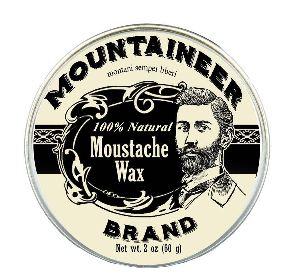 Mountaineer Brand Moustache Wax 2oz, Original