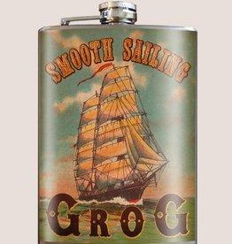Trixie & Milo 8oz Flask Smooth Sailing