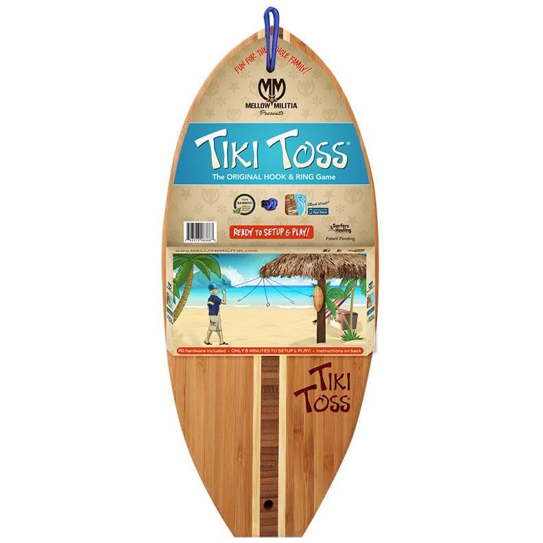 Mellow Militia - Tiki Toss Classic - Surf Edition