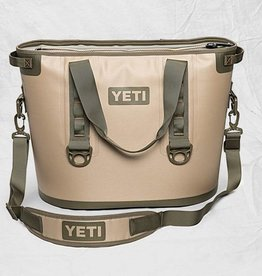 YETI Hopper 30, Field Tan/Blaze Orange