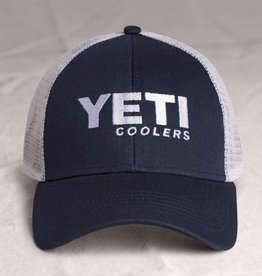 YETI Trucker Hat, Navy Blue