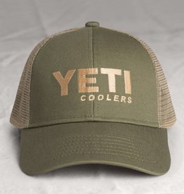 Oliberte Trucker Hat, Olive Tan