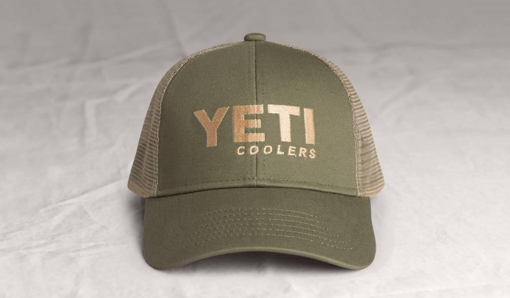 YETI Trucker Hat, Olive Tan