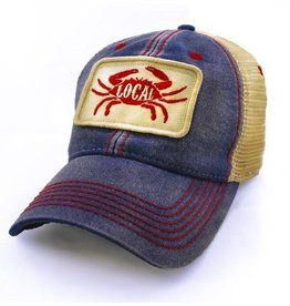 State Legacy Revival Local Seafood Patch Trucker Hat