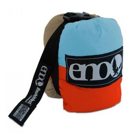 ENO DoubleNest Hammock, Powder/Orange/Tan