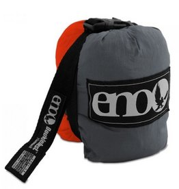 ENO DoubleNest Hammock, Orange/Grey