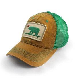 State Legacy Revival Surfing Bear Trucker Hat