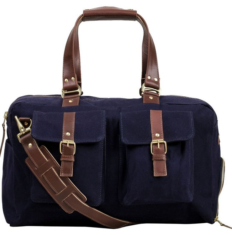 United By Blue Padauck Duffle, Navy
