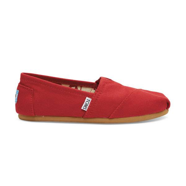TOMS Ws Canvas Classics, Red