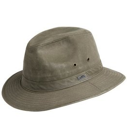 BC Hats Indy Jones Mens Water Resistant Cotton Hat