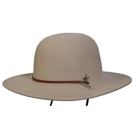 BC Hats Bird And Feather Wool Hat Putty