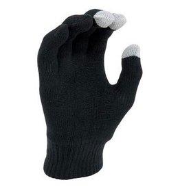 Liberty Mountain Medium Touchscreen Gloves, Black