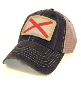 S.L. Revival Co. Alabama Flag Patch Trucker Hat