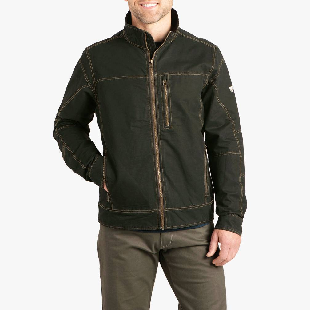 Kuhl Men's Burr Jacket, Espresso