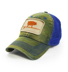 S.L. Revival Co. Wave Hog Trucker, Ocean Green