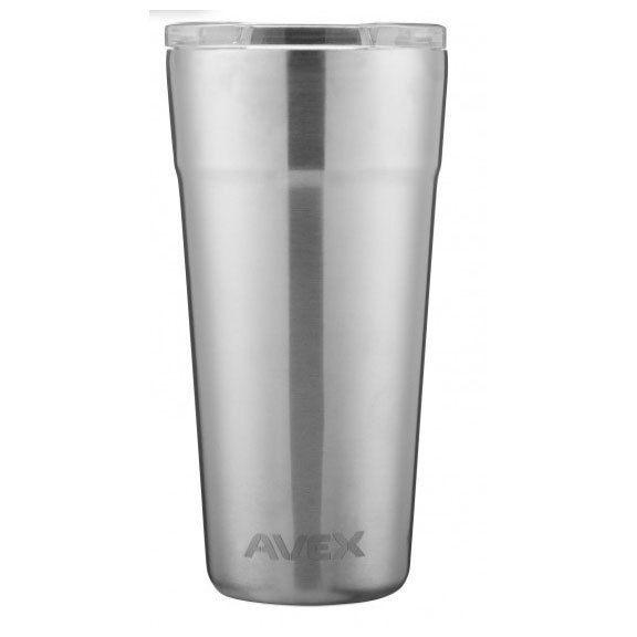 AVEX 20oz Brew Insulated Pint Glass, Steel