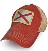 S.L. Revival Co. Alabama Flag Patch Trucker Hat