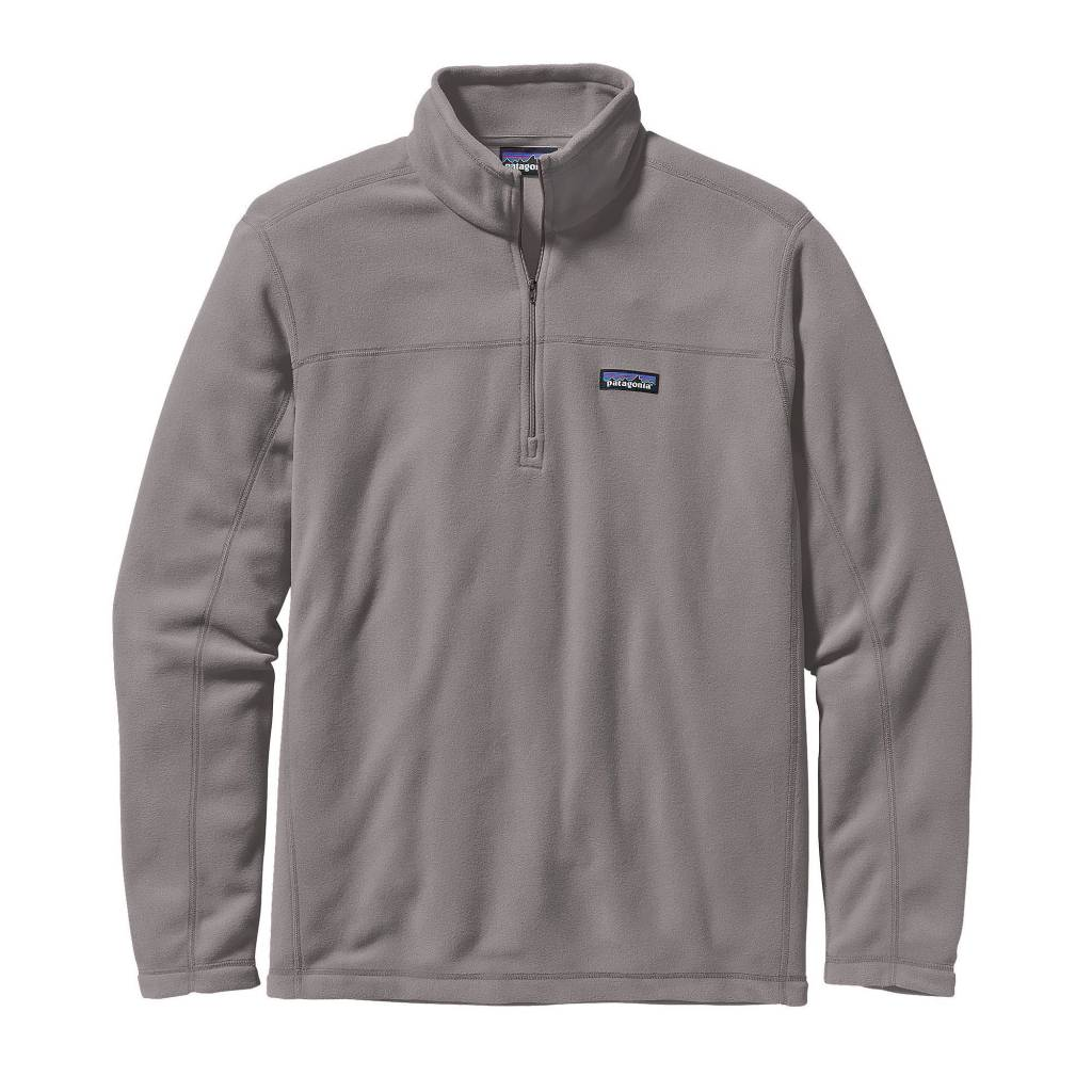 Patagonia Men's Micro D Pullover, Feather Grey