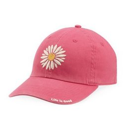 Life is Good A Chill Cap Daisy, Pop Pink