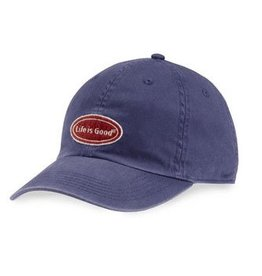 Life is Good A Chill Cap LIG Oval Chill, Darkest Blue