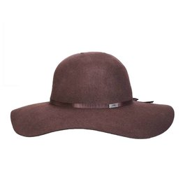 BC Hats The Lauren Floppy Wool Hat, Brown