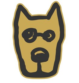 Life is Good U Die Cut Sticker Rocket Sticker, Summer Gold