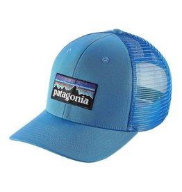 Patagonia P-6 Logo Trucker Hat, Radar Blue