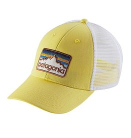 Patagonia Line Logo Badge LoPro Trucker Hat, Yoke Yellow