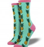 Socksmith Pineapple Socks, Wintergreen