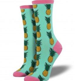 Socksmith Pineapple Socks, Wintergreen