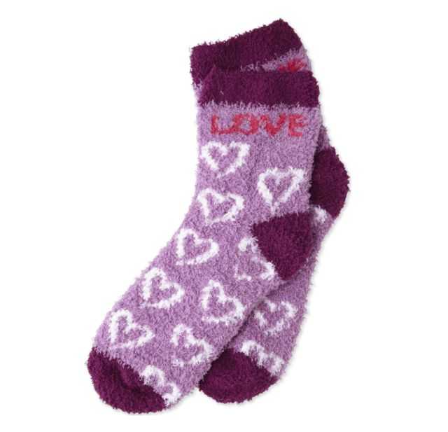 Life is Good W Snuggle Love Hearts, Dusty Orchid