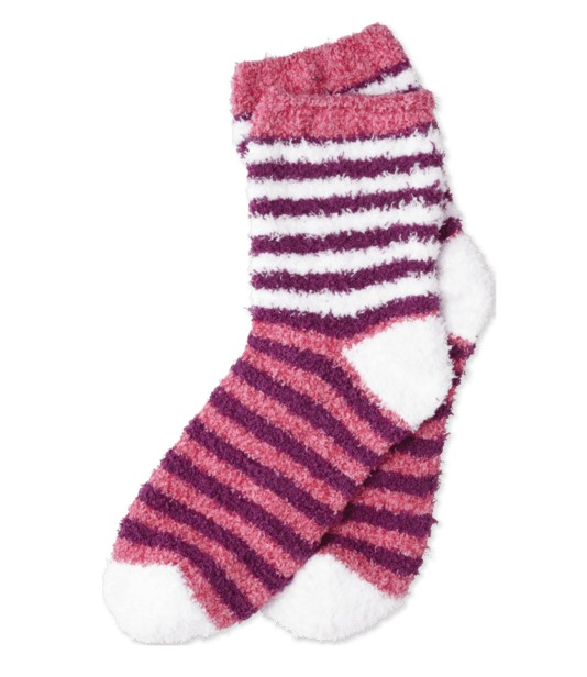 Life is Good W Snuggle Stripes, Pop Pink