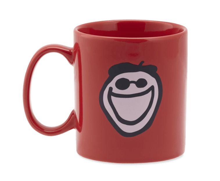 Life is Good U Jake's Mug Jake, Americana Red