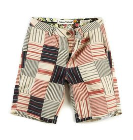 Tailor Vintage Men's Patchwork Walking Short, Clambake