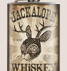 Trixie & Milo 8oz Flask, Jackalope