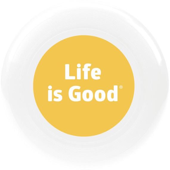 Life is Good U Disc LIG Dot Disc, White