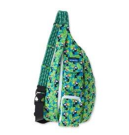 Kavu Rope Bag, Blue Toucan