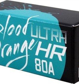 Eastern Skate Supply Blood Orange Barrel 80a Aqua Bushings Set