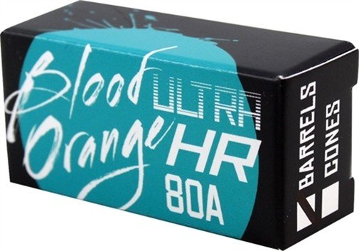 Eastern Skate Supply Blood Orange Barrel 80a Aqua Bushings Set