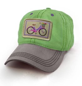 S.L. Revival Co. Townie Bike Everyday Ballcap, Lime