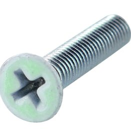 Eastern Skate Supply Blank Standard Phillips Bolt, Glow Head, 1""