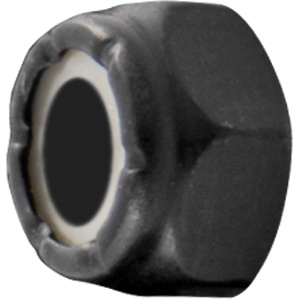 Eastern Skate Supply Blank Standard Lock Nut, Black (10-32)