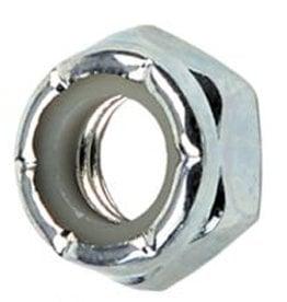 Eastern Skate Supply Blank Standard Lock Nut, Silver/Zinc (10-32)