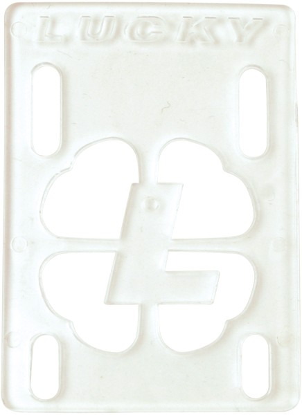 "Eastern Skate Supply Lucky Clear 1/8"" Risers Single"